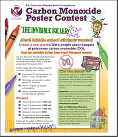 Carbon Monoxide Poster Contest