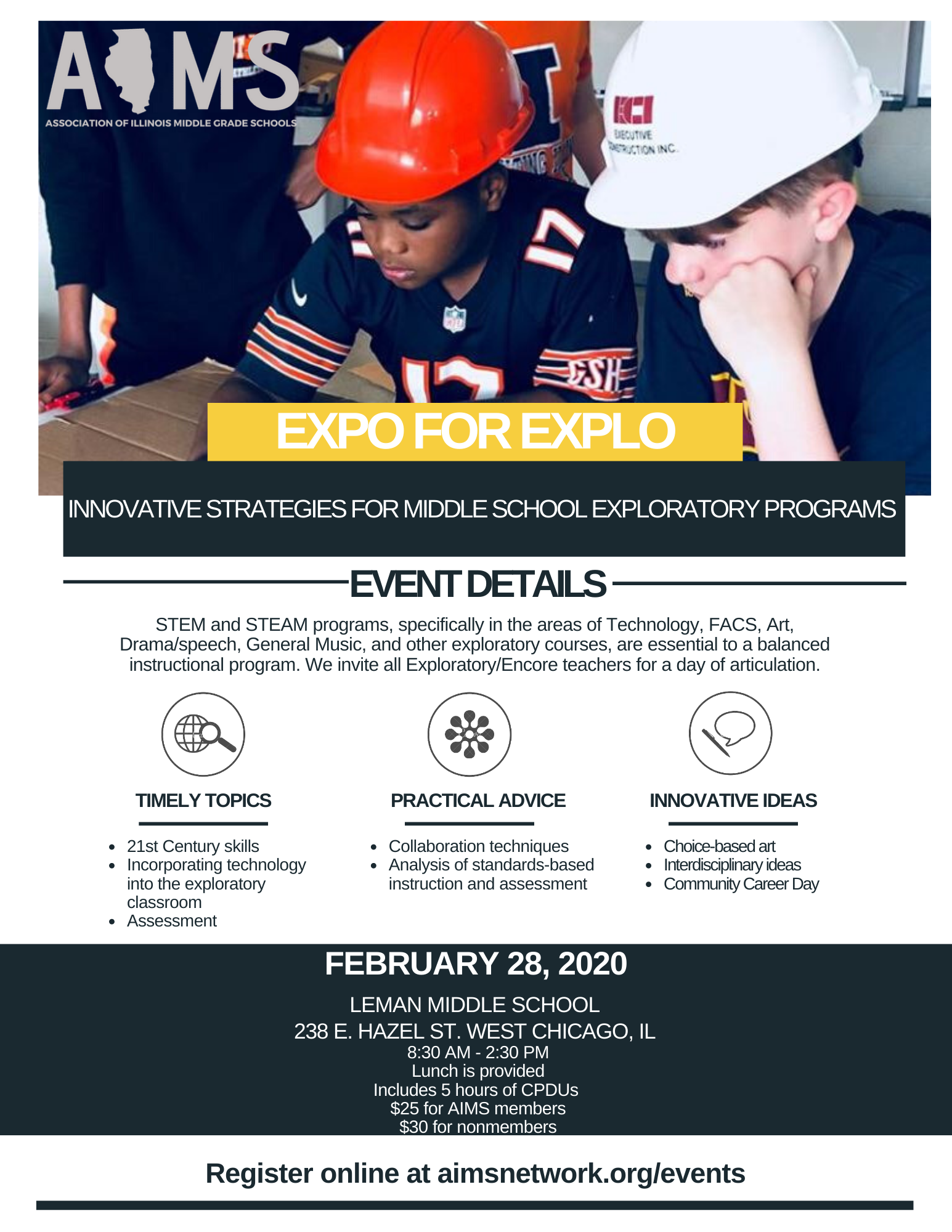 EXPO FOR EXPLO