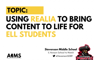 Using Realia - Stevenson Middle School