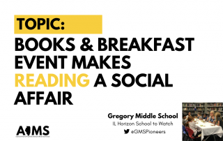 Books and Breakfast Gregory Middle School