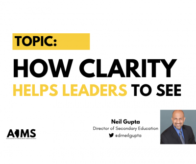 Gupta - Clarity Helps Leaders to See