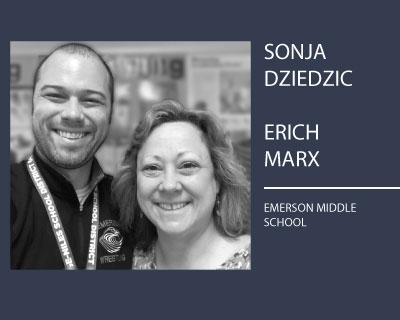 Sonja Dziedzic and Erich Marx