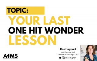 Your last one hit wonder lesson